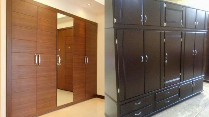 Fantastic Home Furniture Wood Almirah Designs 4 Door Wardrobe – Homes Tips Almari Design In Furniture Wood