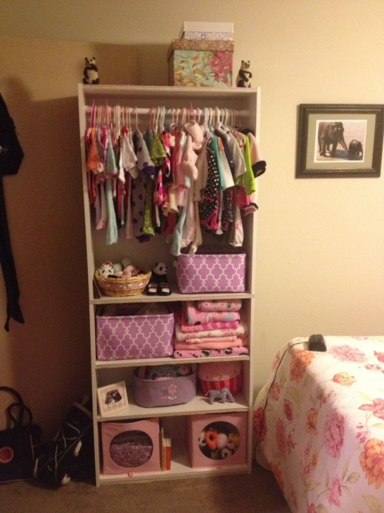 "Fantastic Portable Closet"" For Nurseries In Small Spaces 
