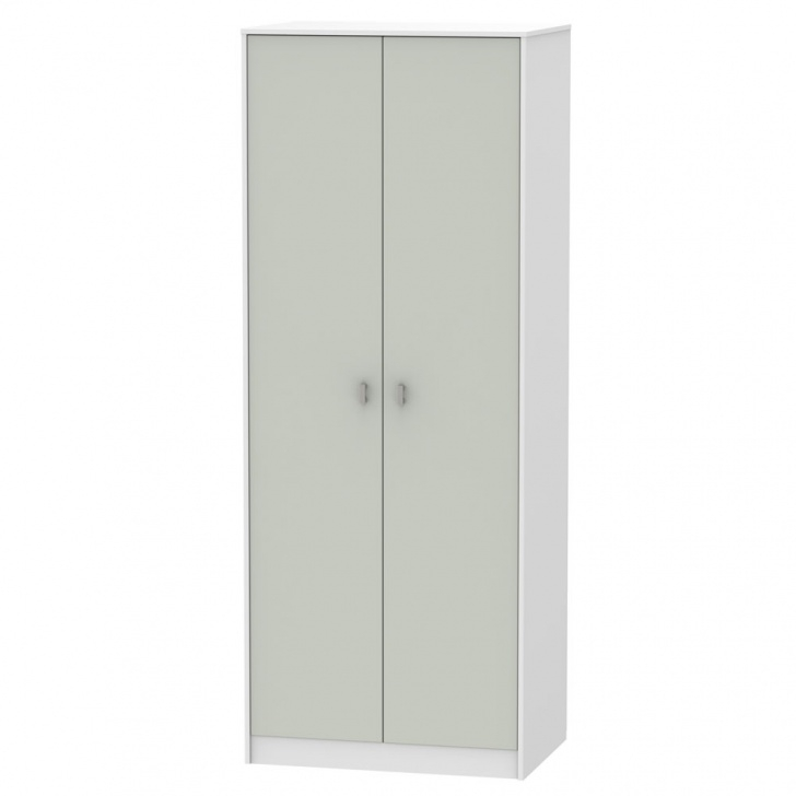 Fantastic Wardrobes | Sliding, Tall & Narrow Wardrobes | Wilko White Narrow Wardrobe Image