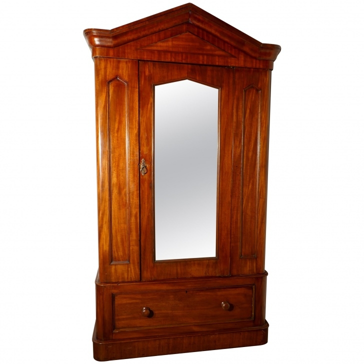Fascinating Early Victorian Stripped Pine Wardrobe For Sale At 1Stdibs Single Pine Wardrobe Image