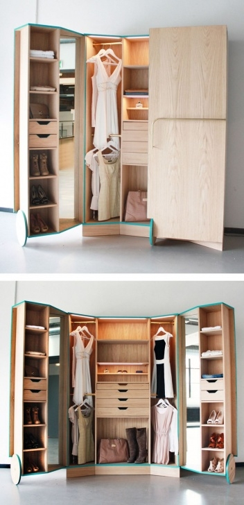 Fascinating Portable Walk In Closet | Closets + Clothing Organization | Portable Simple Small Movable Wardrobe Design Pics