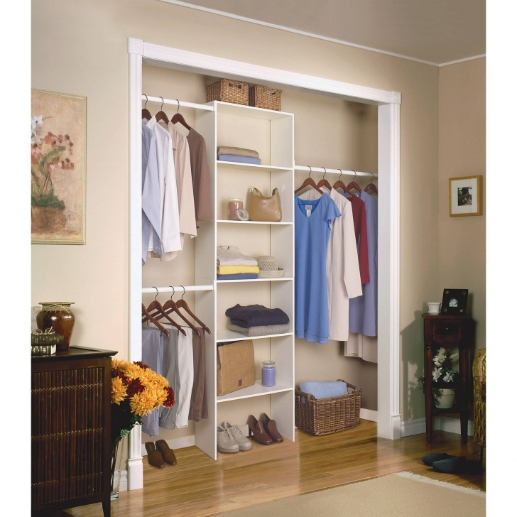 "Gorgeous Closetmaid Vertical Closet Organizer, 24"", White - Walmart Stand Alone Closets For Bedroom Photo"