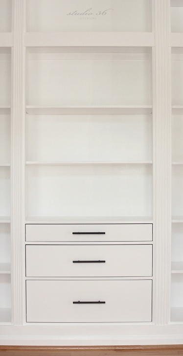 Gorgeous Diy Built-In Bookcase Reveal (An Ikea Hack) – Studio 36 Interiors Hemnes Closet Hack Photo