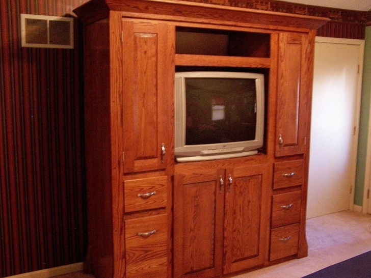 Gorgeous Hand Made Mens Large Wardrobe / Entertainment Center By Classic Custom Made Large Wardrobes Image