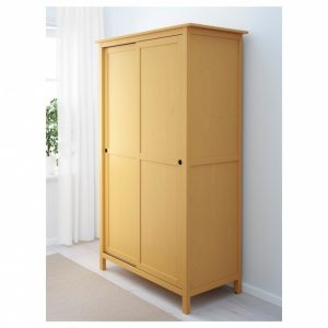 Gorgeous Hemnes Wardrobe With 2 Sliding Doors - Yellow - Ikea Yellow Closet Wardrobe Sliding Doors Ideas Pics