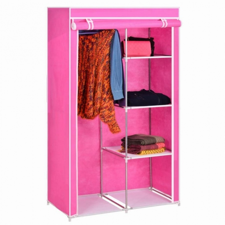 Gorgeous Home Furniture Diy Folding Portable Fabric Cloth Wardrobe Closet Cloth Wardrobe Furniture Picture