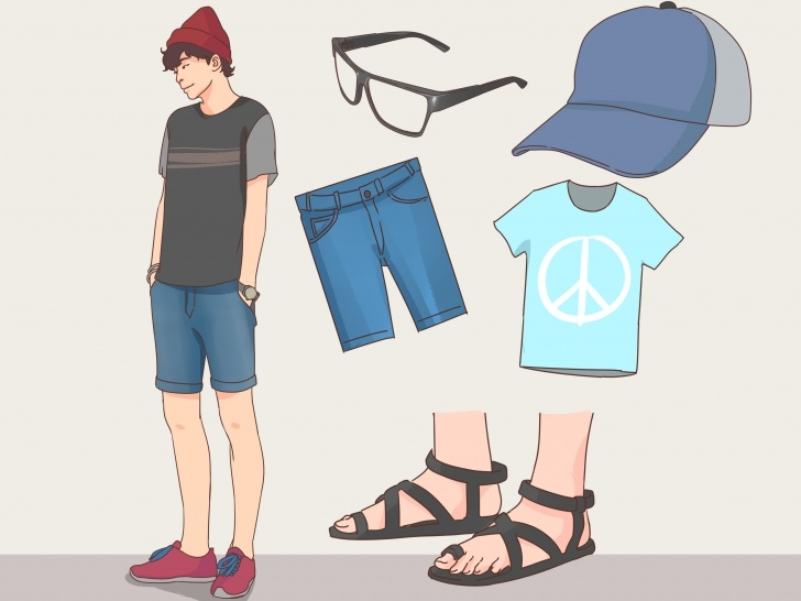 Gorgeous How To Dress Cool In High School (For Guys): 11 Steps Small Student Wardrobe Image