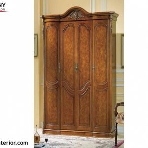 Gorgeous Wooden Polish Wardrobe - Wooden Almari - Sonyinterior Wood Almari Photos