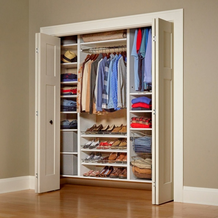 Image of Build Your Own Melamine Closet Organizer | Family Handyman Floating Closet System Pics