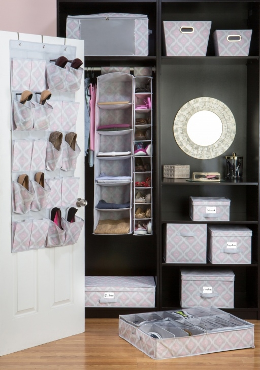 Image of Macbeth Collection Closet Candie Fabric Storage Box & Reviews | Wayfair Closet Storage Boxes With Lids Photo