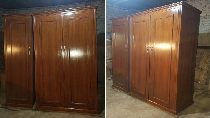 Image of Peshawar Furniture Wardrobe Almari Design 7 Foot In 2018/2019 - Youtube Wood Almari Design 2019