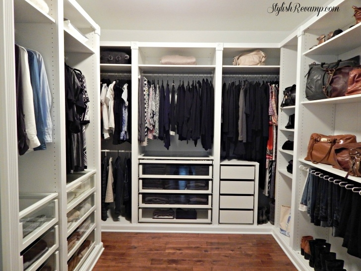 Image of Revamping My Closet With The Ikea Pax Wardrobe - Stylish Revamp Ikea Pax Wardrobe Closet Photo
