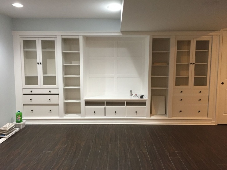 Inspirational Ikea Hack Built Ins In Our Basement-Hemnes Series … | Dream Home In Hemnes Closet Hack Picture