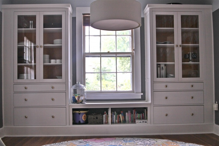Inspirational Ikea Hemnes Hack - Dining Room Built Ins Using Hemnes Cabinets And Hemnes Closet Hack Photo