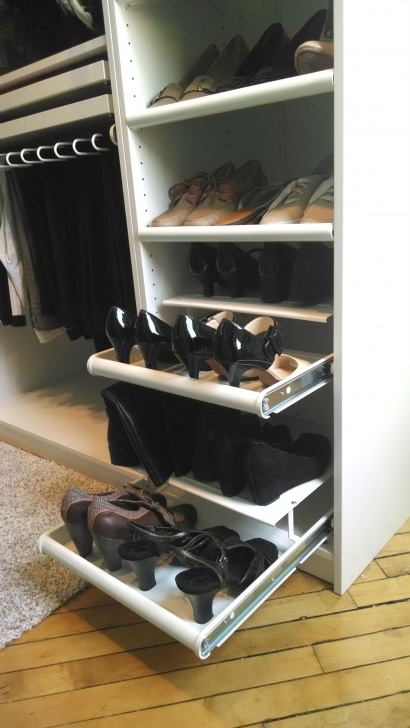 Inspirational Komplement Pull-Out Shoe Shelf, White | Ikea Home Tour Makeovers Closet Shoe Pull Out Pics