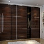 Inspirational Laminate Wardrobe Designs In Black Bedroom Furniture. This Chocolate Wardrobe Laminate Design Photo