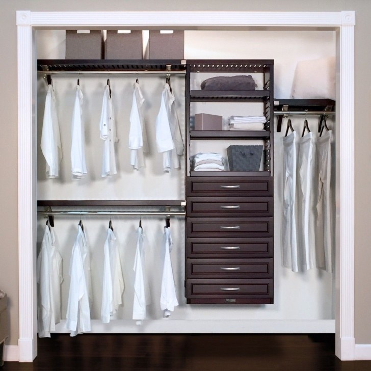 Inspirational Woodcrest Premier Closet Organizer With 6 Drawers L John Louis Home Closet Organizers With Drawers Image