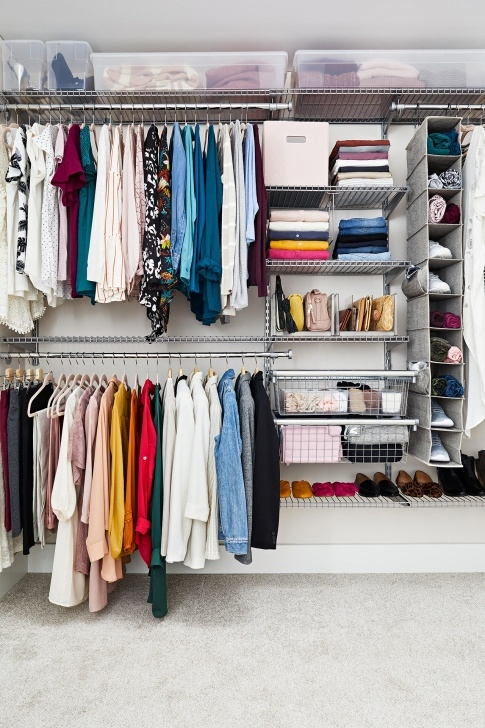 Inspiring 31 Organizing Tips To Steal For Your Closet Evaluating Storage Needs Closet Picture