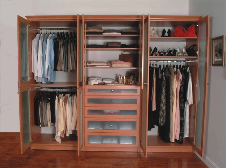 Inspiring 95 Bedroom Closet Ideas (Photos) Stand Alone Closets For Bedroom Pics