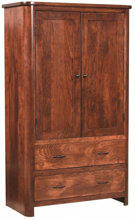 Inspiring Amish Cunningham Armoire In 2019 | Decor And Furniture For The Solid Wood Armoire Wardrobe Closet Amish Picture