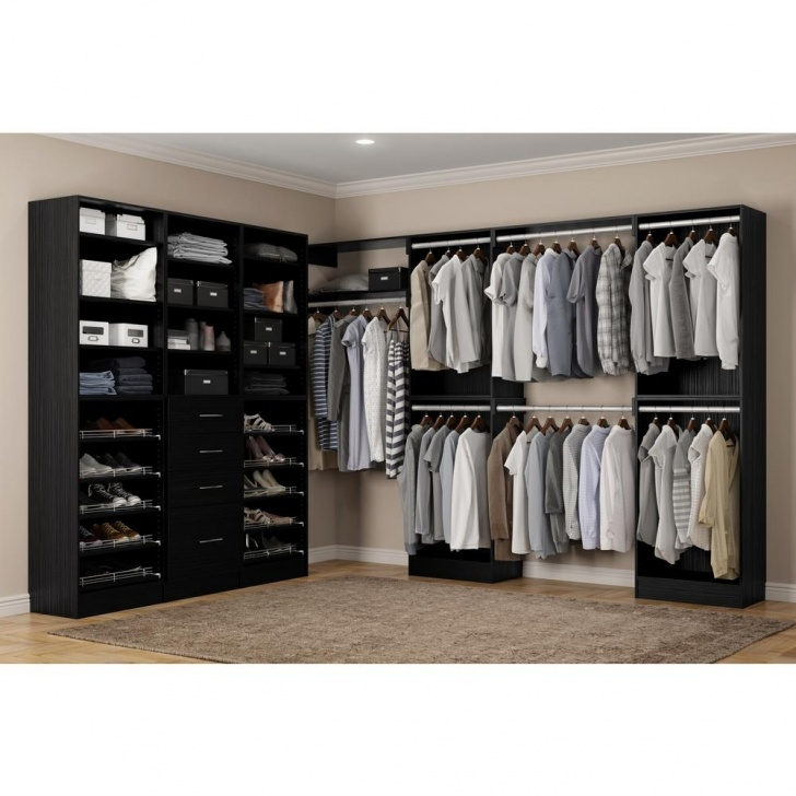 Inspiring Home Decorators Collection Calabria Walk In 15 In. D X 243 In. W X Walk In Closet Systems Image