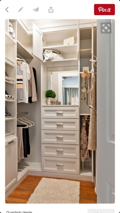 Marvelous 12 Small Walk In Closet Ideas And Organizer Designs | Dream Home Lowes Small Walk-In Closet Design Ideas Picture