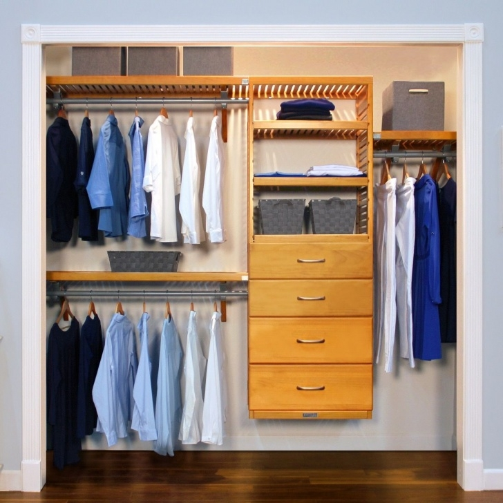 Marvelous 16In Deep Deluxe Closet Organizer With 4 Drawers L John Louis Closet Organizers With Drawers Photo