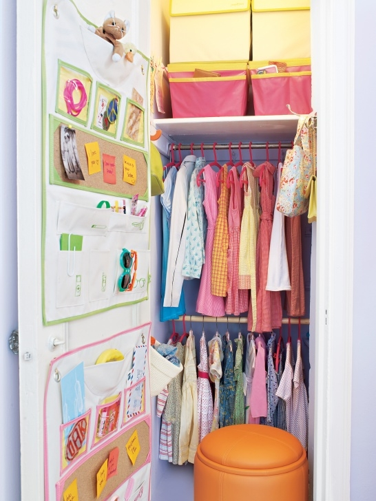 Marvelous 7 Smart Ways To Organize Your Kid's Closet | Real Simple Children Wardrobe Ideas Pics