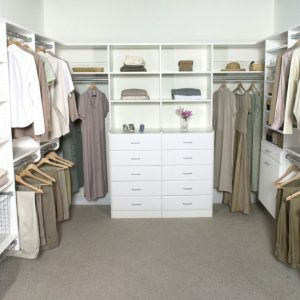 "Marvelous A Simple, Yet Realistic, Closet Design. ""his"" On One Side, ""her's Simple Closet Designs Photo"
