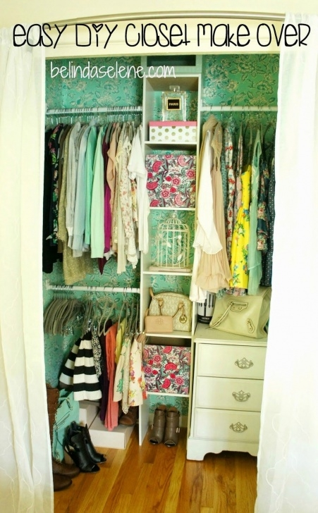 Marvelous Easy Diy Closet Make Over This Is Really Cheap, Affordable, And Diy Closet Organization Ideas On A Budget Photo