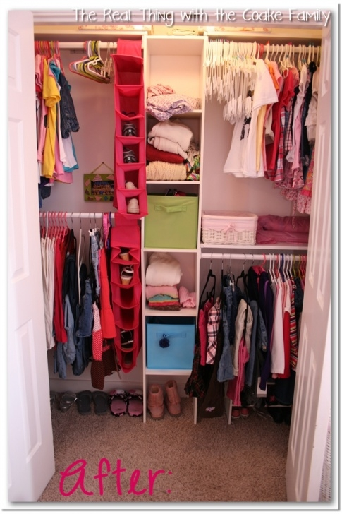 Marvelous Kids Closet {Organizing Ideas} - The Real Thing With The Coake Family Kids Wardrobe Ideas Photo