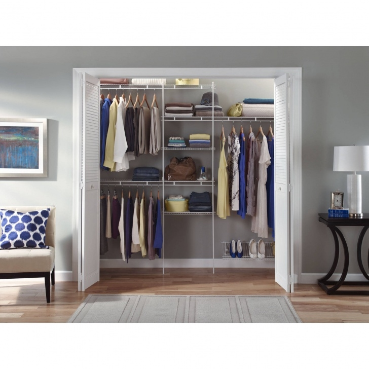 Outstanding Closet Organizer Storage System Clothes Shelf Rack Wardrobe Shelves Closet Systems For Wall Picture