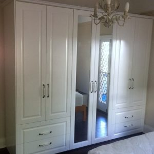 Outstanding Gorgeous Traditional White Painted Built In Wardrobe Elegance And White Wardrobe Traditional Photo