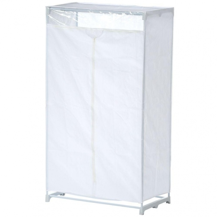 Outstanding Honey-Can-Do 63 In. H X 36 In. W X 20 In. D Portable Closet In White White Portable Closet Picture