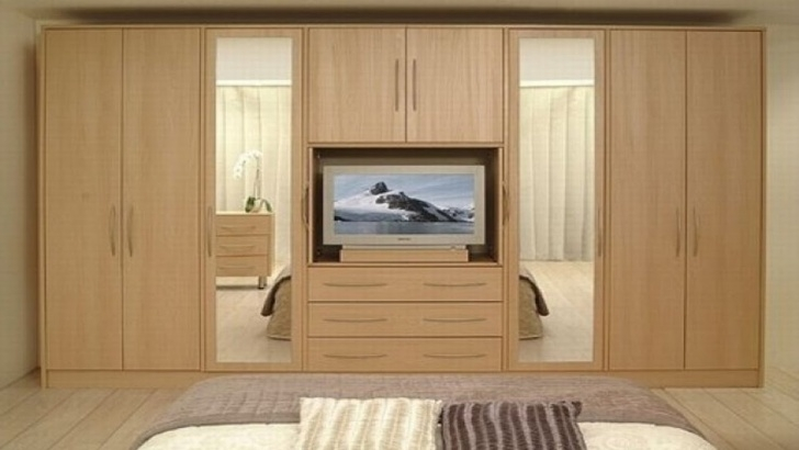 Outstanding Modern Bedroom Cupboard Designs 2018 | Wardrobe Design Ideas Farnichar Almari Image
