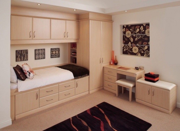 Picture of Marvelous Fitted Bedroom Hpd313 - Fitted Wardrobes - Al Habib Panel Small Room Wardrobe Images Image