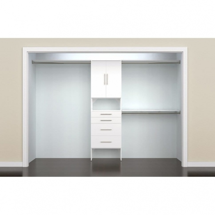 Picture of Shop Closetmaid Suitesymphony Modern 25 In. Closet Organizer With 4 Closet Organizers With Drawers Pics