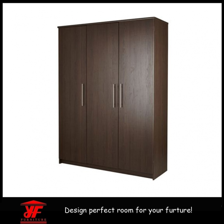 Remarkable China Home Living Room Furniture Bedroom Wall Wardrobe Design Simple New Design Wooden Almirah & Wardrobe Pics