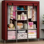 Remarkable Details About Wardrobe Storage Clothes Organizer Closet Cabinet Simple Small Movable Wardrobe Design Pics