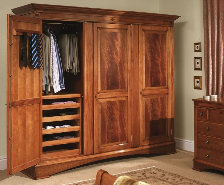Remarkable Organizing All Sorts Of Apparels In One Place In An Armoire Wardrobe Wardrobe Wooden Portable Image