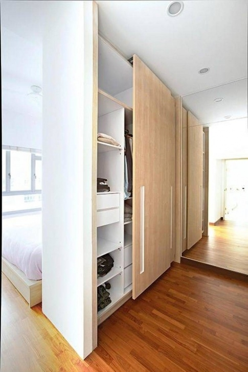 Remarkable Ways To Incorporate Walk-In Wardrobes In Small Bedroom | Recommend Small Room Wardrobe Images Image