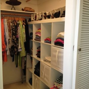Splendid 12 Small Walk In Closet Ideas And Organizer Designs | Small Walk In Walk-In Closet Do It Yourself Ideas Image