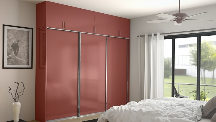 Splendid 6 Trendy Wardrobe Door Designs From Homelane - Homelane Blog Formica Wardrob Door Design Pics