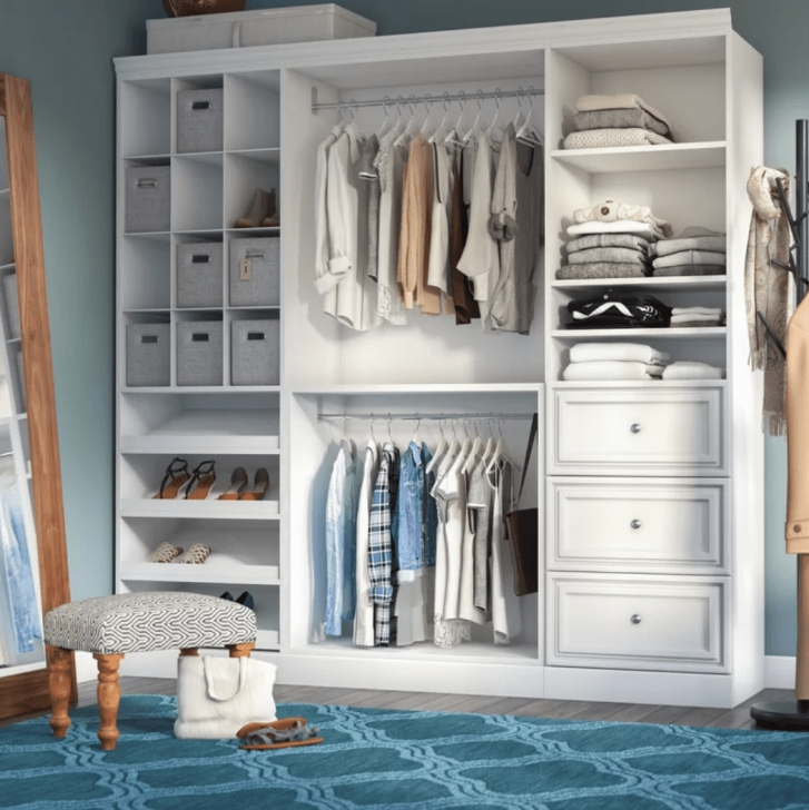 Splendid The 7 Best Closet Kits Of 2019 Walk In Closet Systems Picture