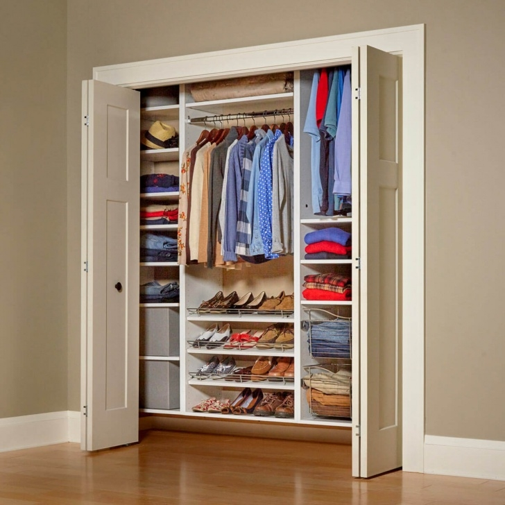 Stunning 21 Cheap Closet Updates You Can Diy | The Family Handyman Short Wardrobe Closet Image