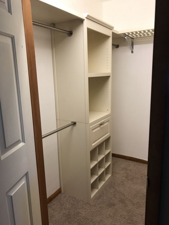 Stunning Allen Roth Closet System For Small Walk In Closet | Great Ideas In Lowes Small Walk-In Closet Design Ideas Image