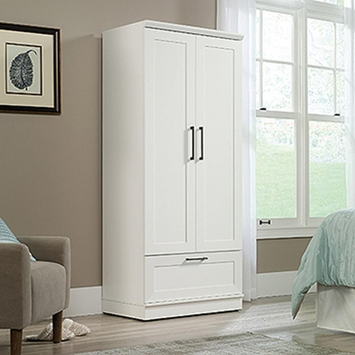Stunning Soft White Wardrobe/storage Cabinet In 2019 | Products | Wardrobe White Narrow Wardrobe Photo