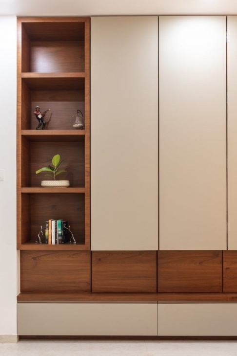 Stunning Swaram - A Contemporary House | Pavan Infratech - The Architects Furniture Cupboard Almari Design