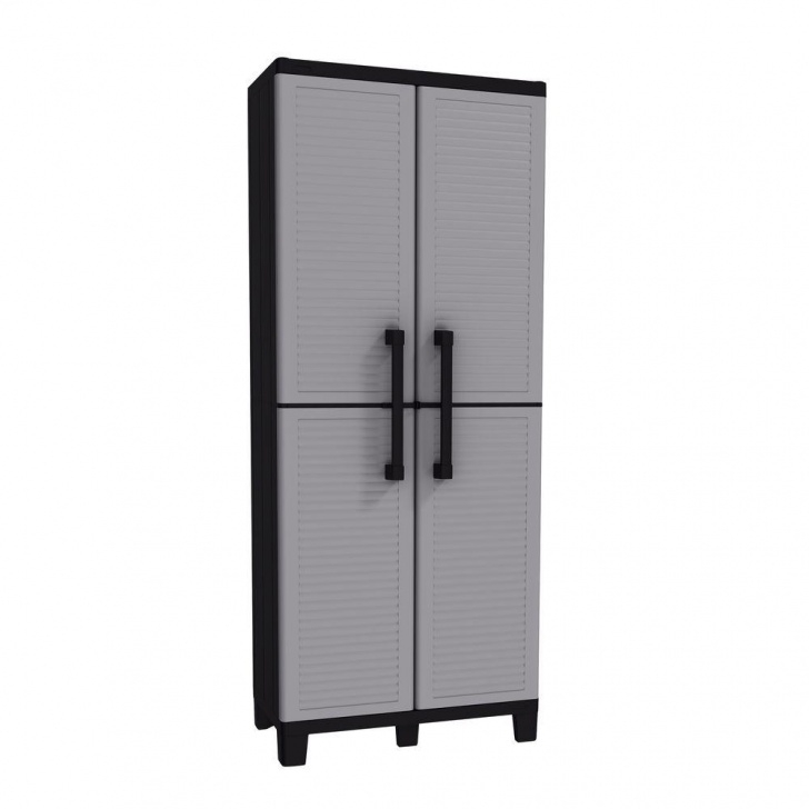 Stylish Keter Space Winner 67.32 In. H X 26.77 In. W X 14.96 In. D Resin Plastic Storage Closet Picture