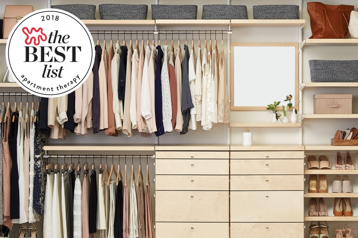 Stylish The Best Closet Systems To Organize Your Wardrobe   Apartment Therapy Free Standing Closet Systems Pics